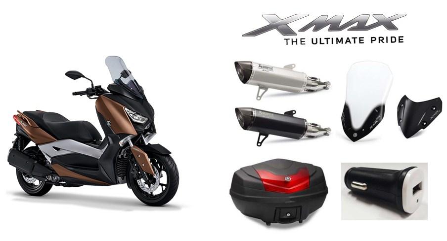 Nah Ini Loh Semua Aksesoris Yamaha Xmax Terbaru