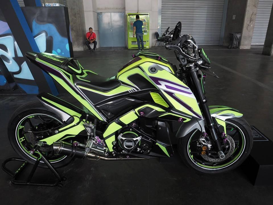 Ini Nih Modifikasi Tak Lazim Kepunyaan Yamaha Xabre 150
