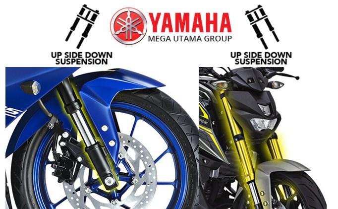 Beginilah Bentuk Motor Dengan Upside Down Suspension Yamaha