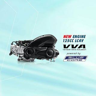 Betapa Hebatnya Mesin 125 VVA Milik Yamaha Lexi