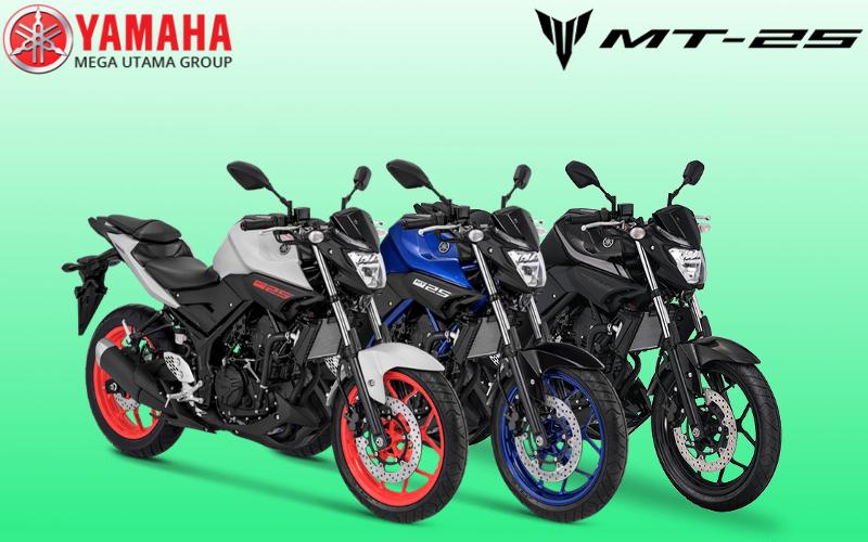Lihatlah Betapa Bagusnya Warna Terbaru Yamaha MT25