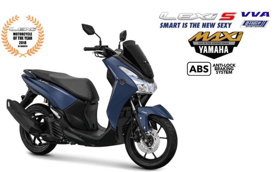 Nah Loh Yamaha Lexi Makin Keren Dengan Fitur Terbaru